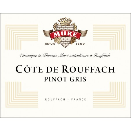Pinot Gris Côte de Rouffach - Bio